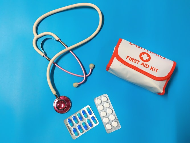 Emergency Medical Training subject in school