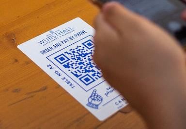 QR Code use print publish