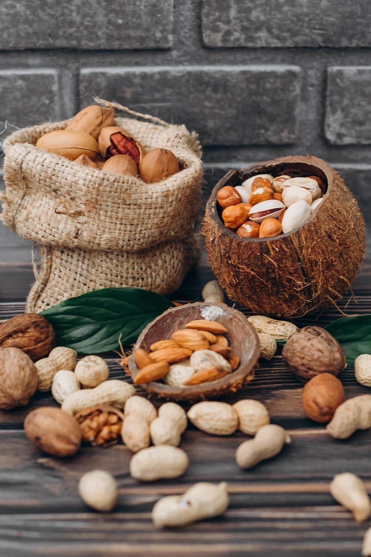 brown round fruit in brown wicker basket