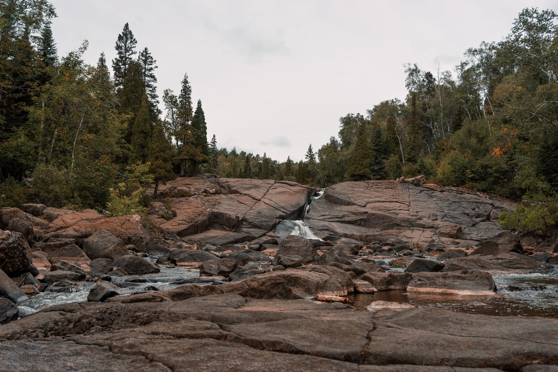 waterfall near Rochester, Minnesota