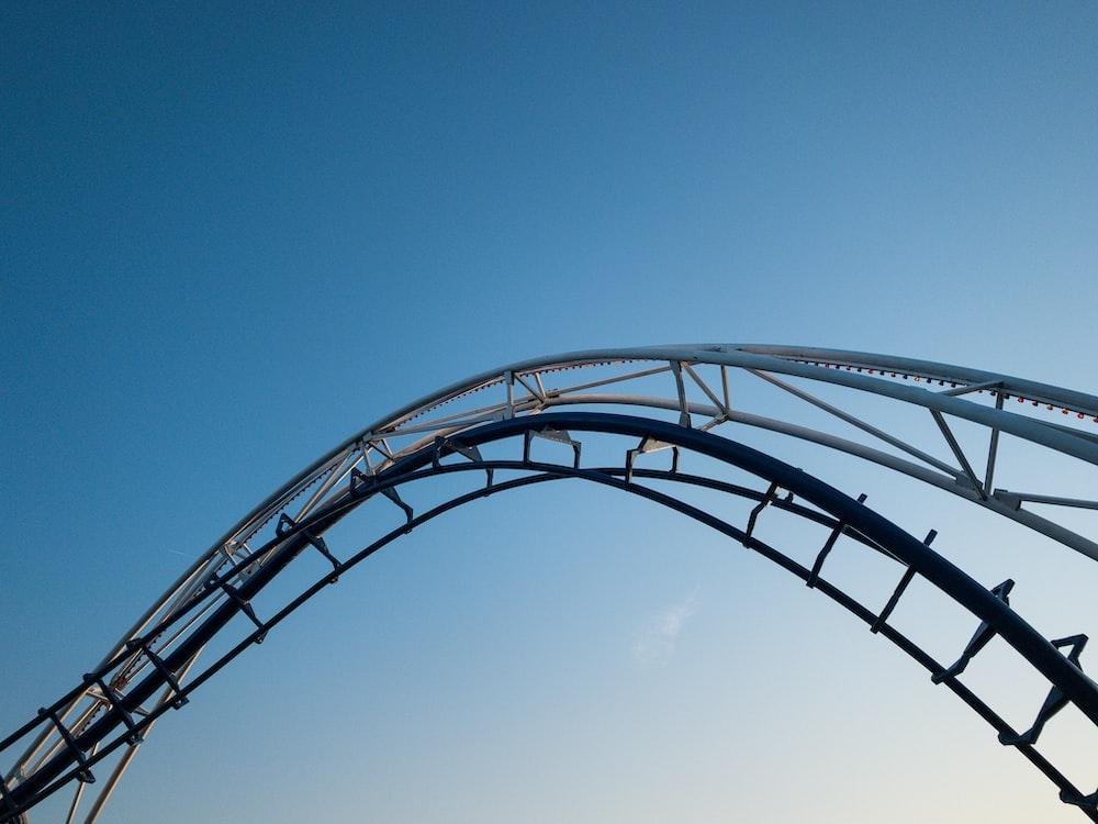 black metal frame under blue sky during daytime