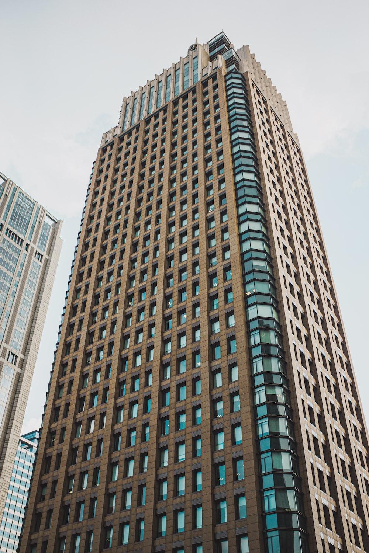 brown concrete high rise building