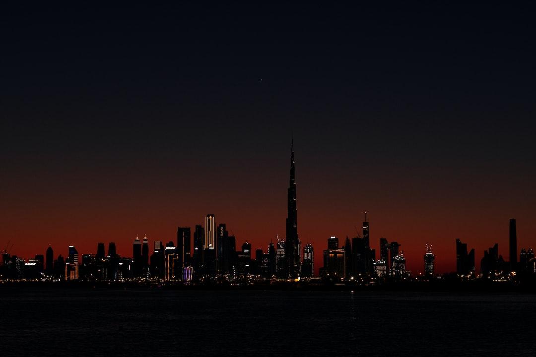 City Skyline During Night Time - unsplash