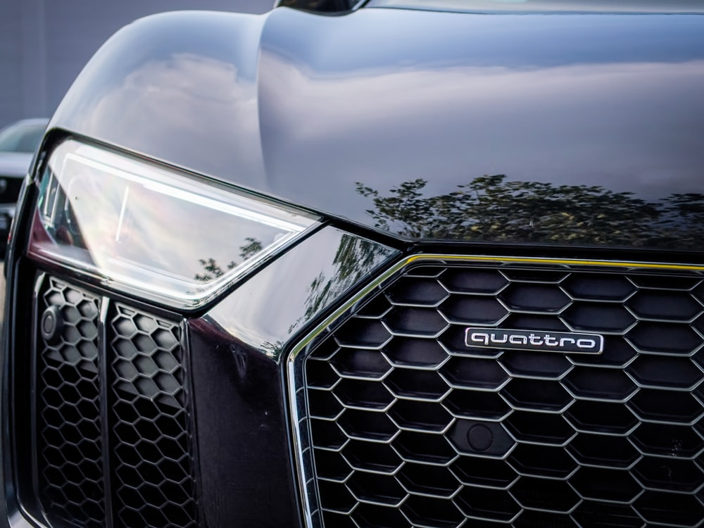 silver mercedes benz car with open hood