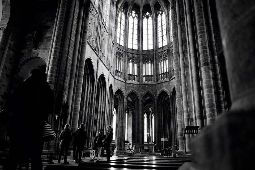 People Walking Inside A Cathedral - unsplash