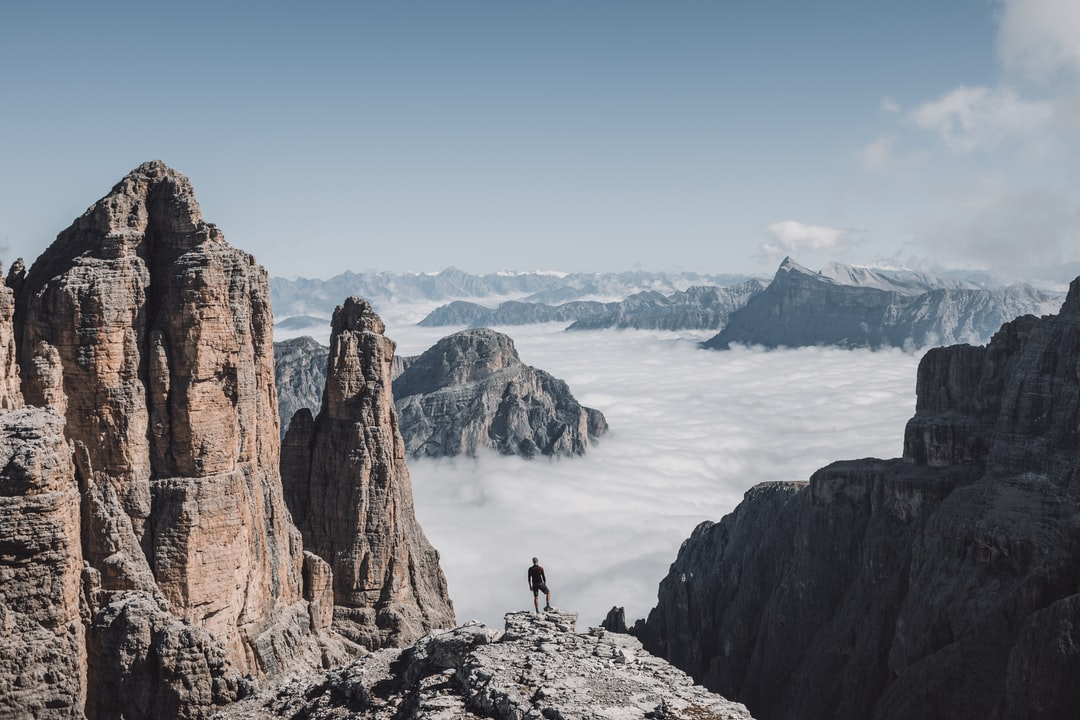 We Walked For 4 Hours To Get This Stunning Views In the Dolomites - unsplash