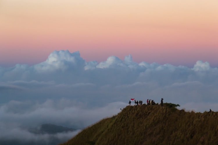 Hike to Mt. Batur, Places to Visit in Bali in April