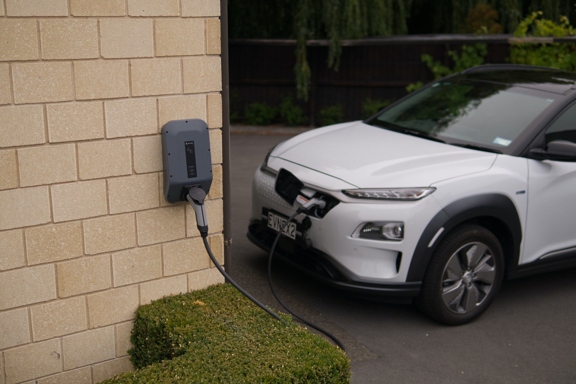 Über Land unter Strom mit einem Hyundai Kona