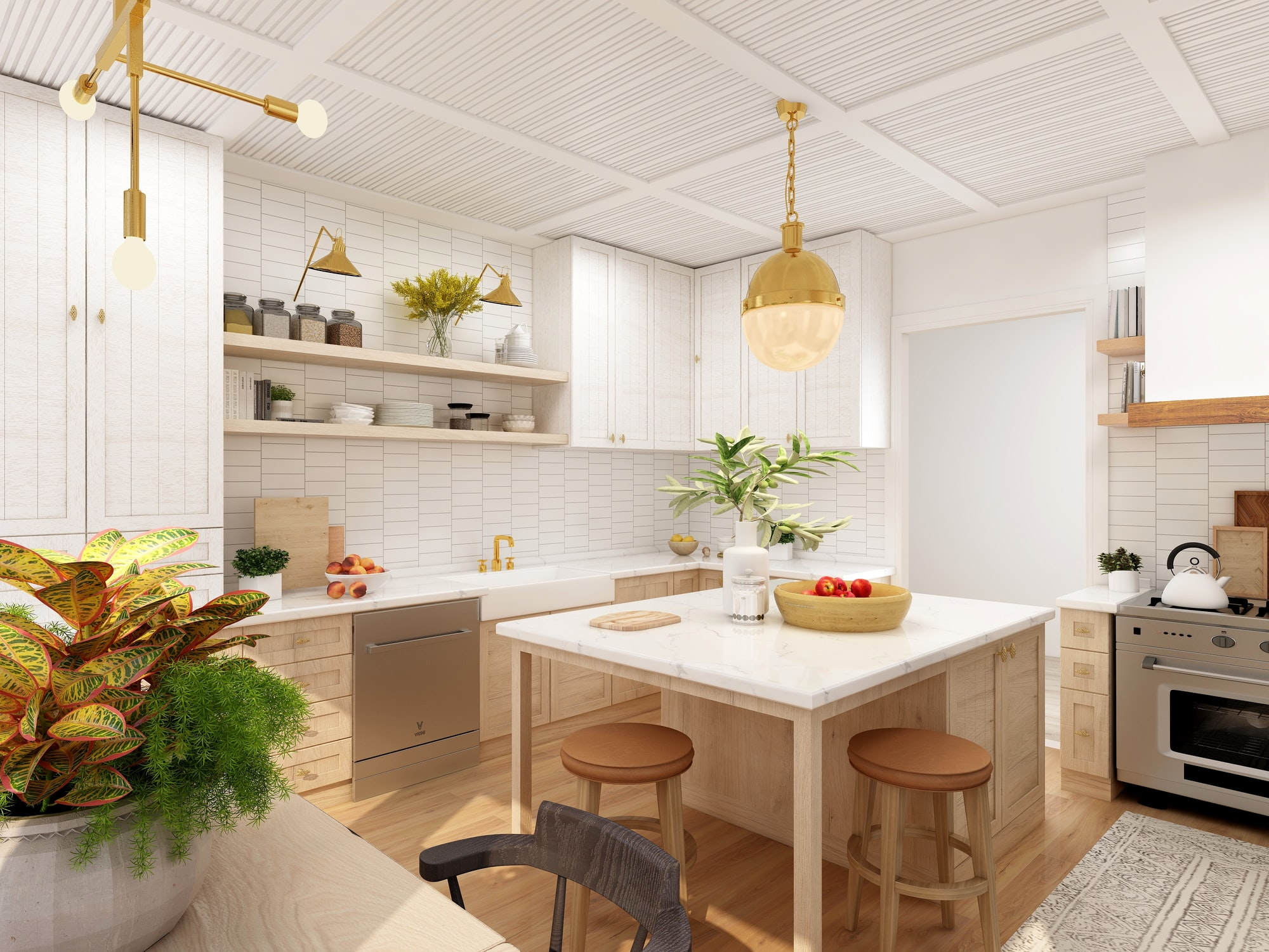 4 amazing decor tips for a stunning kitchen