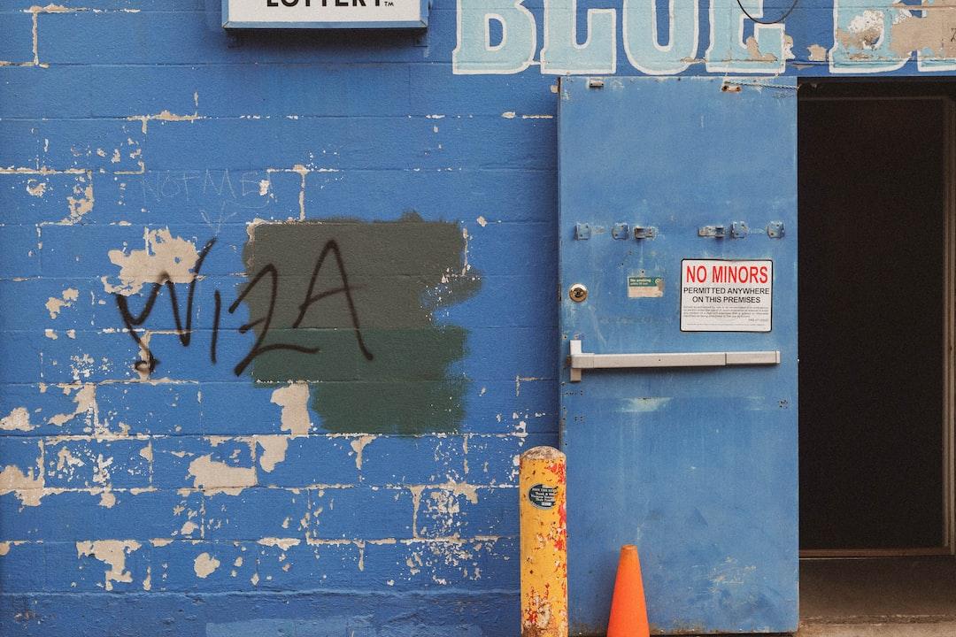 Blue and White Wooden Door - unsplash