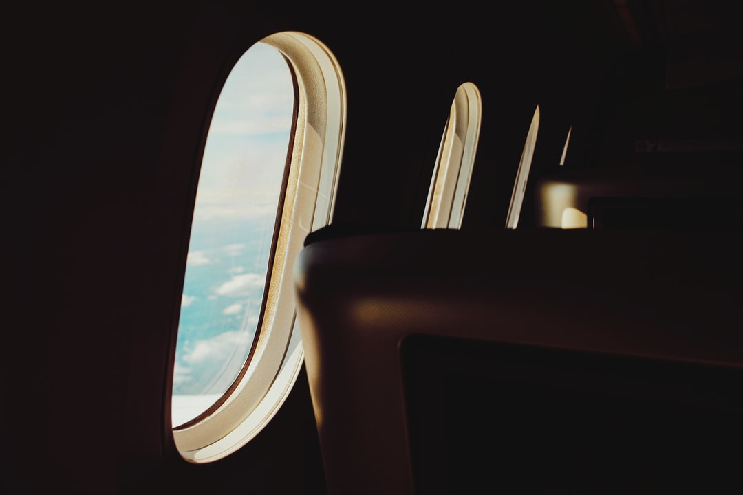 View Out of Airline Window - unsplash