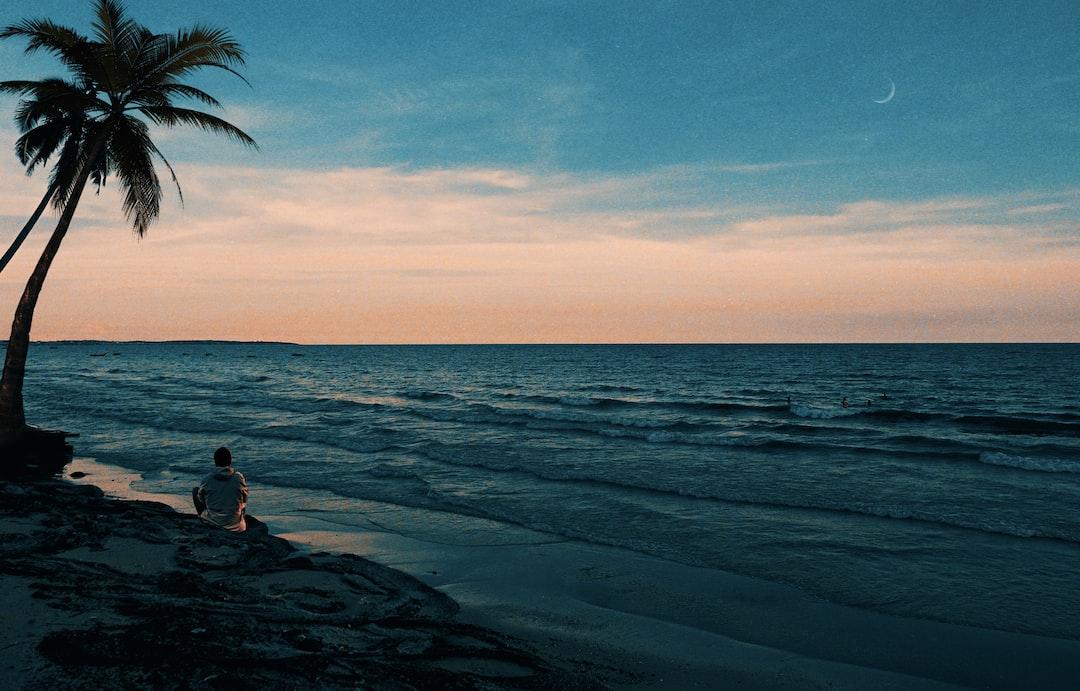 Stranger By the Beach - unsplash