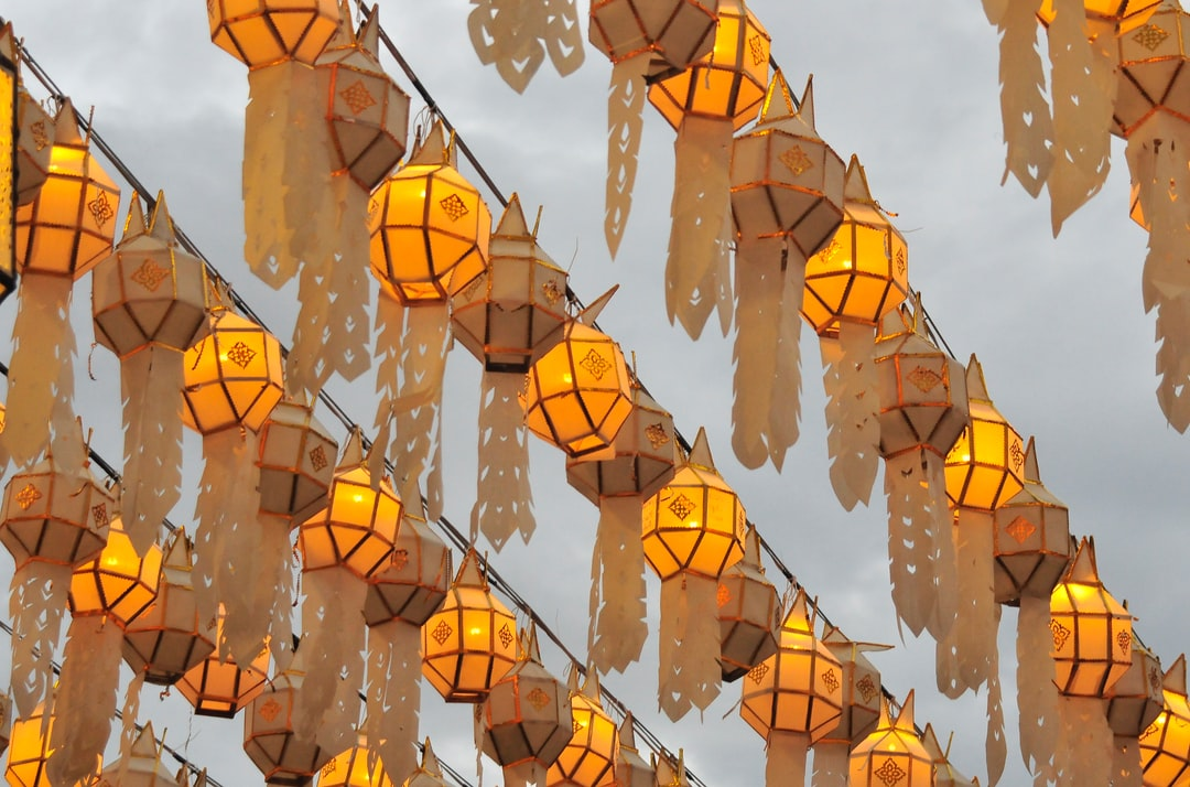 Loy Krathong Is the Time of the Year To Hang Up the Lanterns. - unsplash