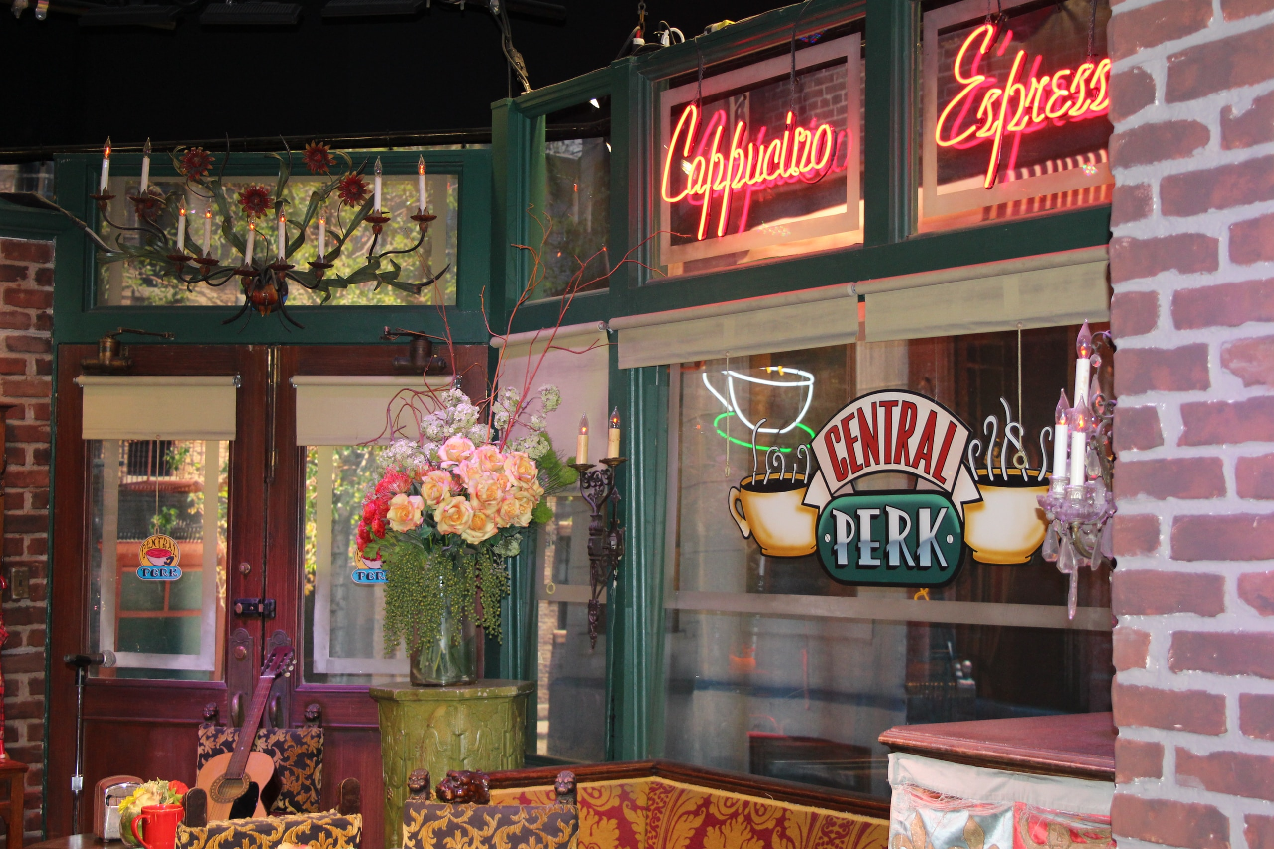 The original Film set of the series Friends at Warner Brothers in Los Angeles