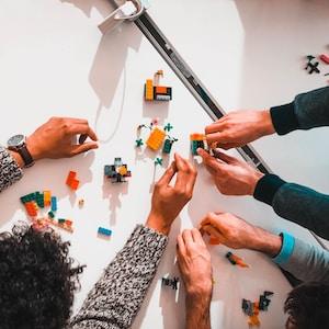 Team building Lego model.Please, credit my pictures :@sebastien__bonneval