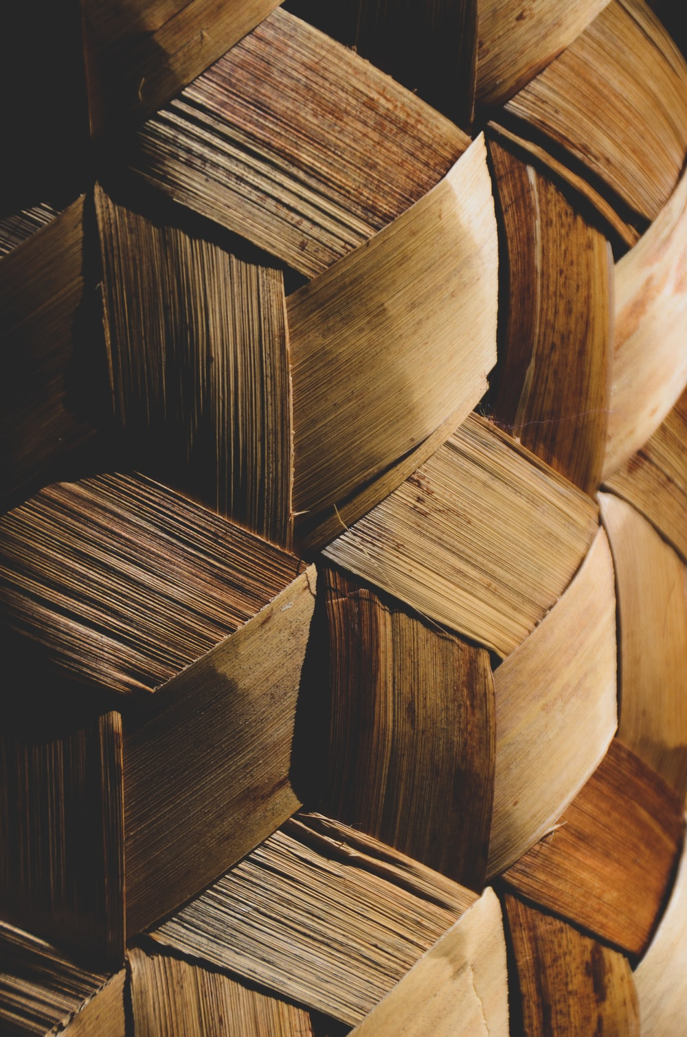brown wooden blocks in close up photography