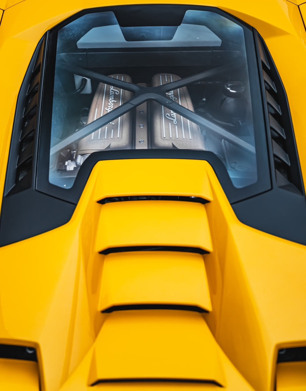 yellow and black train during daytime