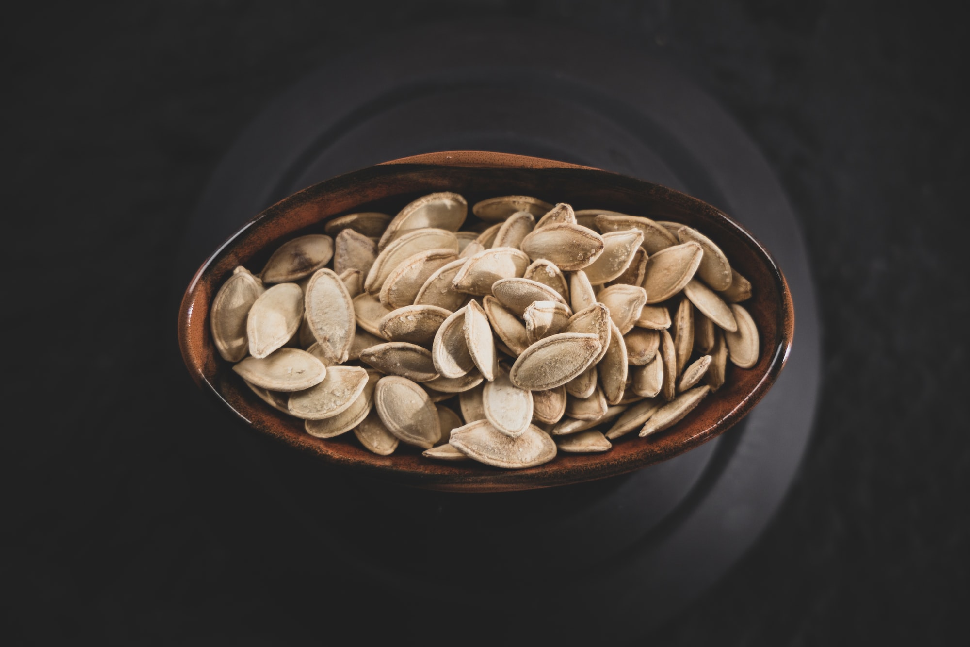 fresh and delicious pumpkin seeds