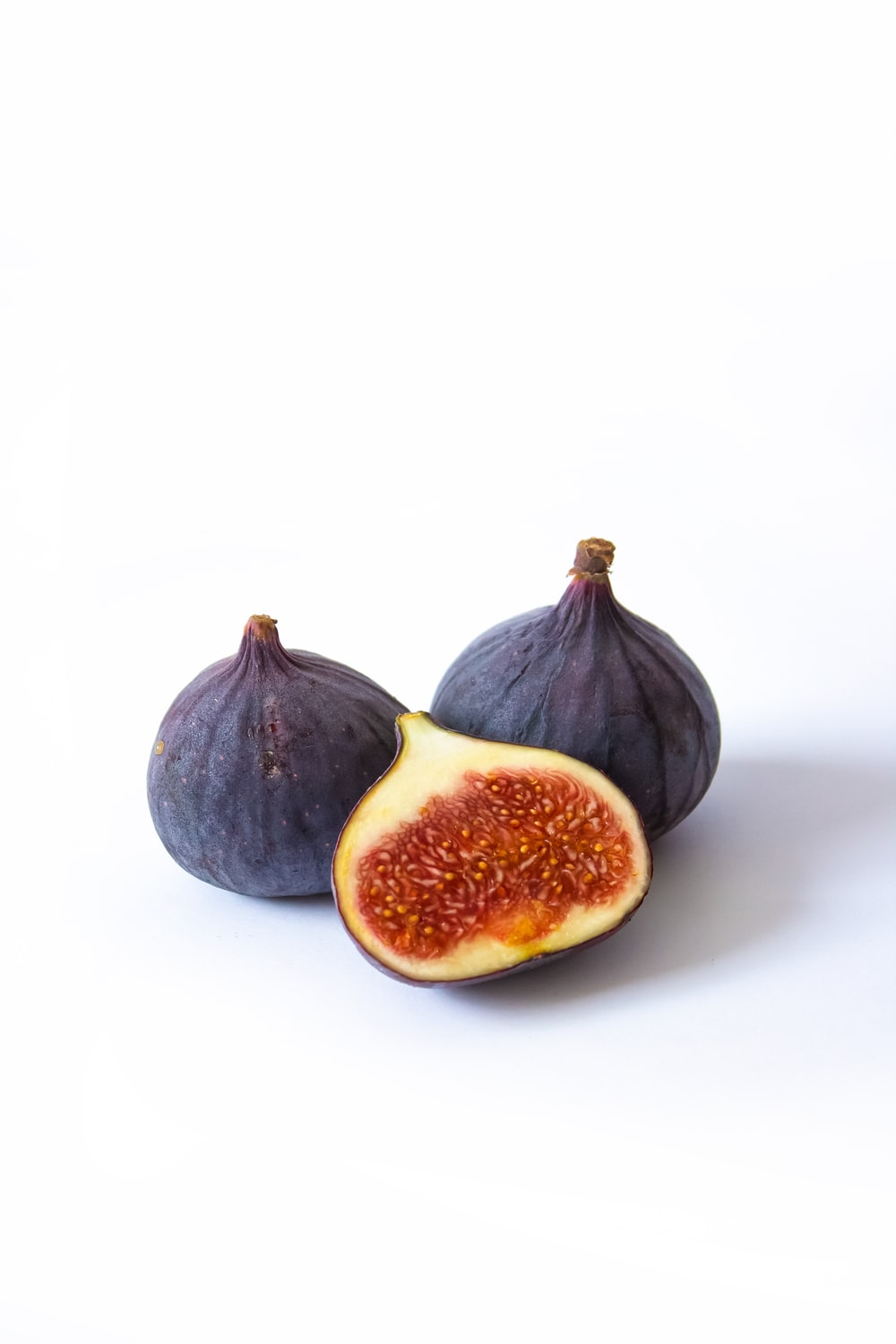 black and red round fruit