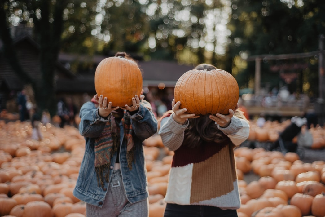 head to the pumpkin patch for a date day