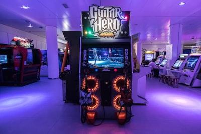 arcade teams background