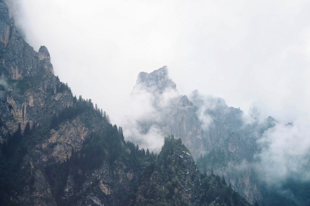 Green Trees On Mountain Under White Clouds During Daytime - unsplash