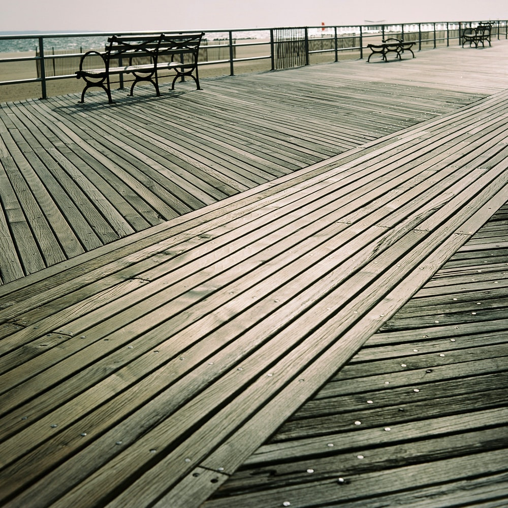 brown wooden dock during daytime