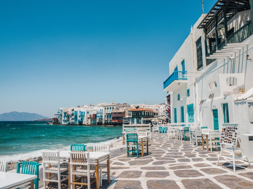 Mykonos, Places to visit in Greece in March