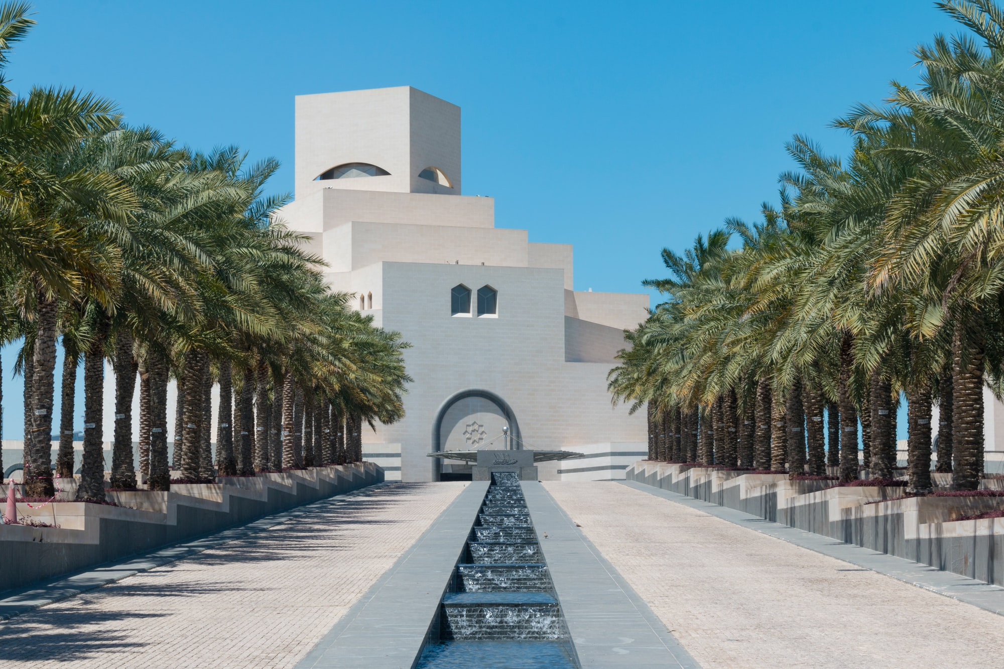 The Museum of Islamic Art is a museum on one end of the seven-kilometer-long Corniche in Doha, Qatar.