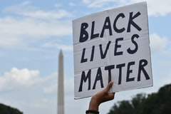 Chicago Family 'Livid' After Video Shows Man Removing Black Lives Matter Sign from Their Lawn