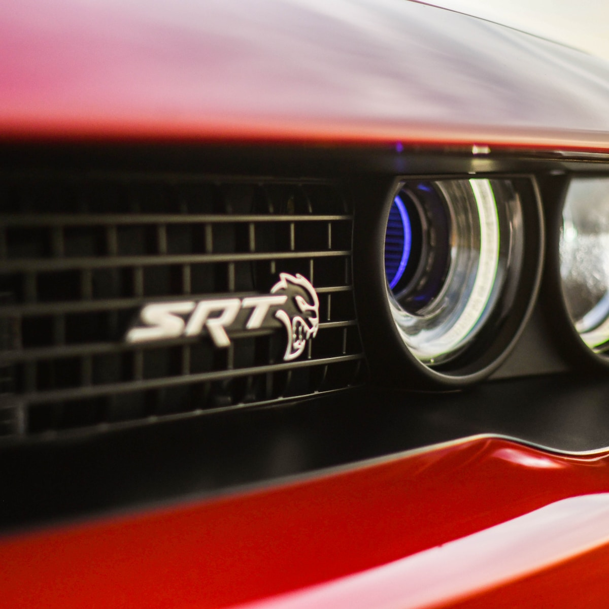 INSTAGRAM: SARRAMPHOTOGRAPHY Felino, a very nice man with an insanely fast car. Drag tires mounted on the back of his 2018 Dodge Challenger SRT Hellcat. This beast generates around 1000 horsepower. Shot in the Rocky Mountain Arsenal