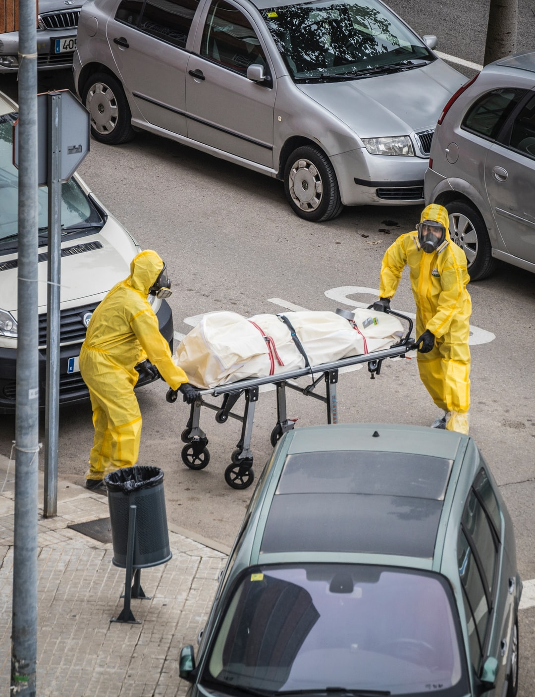 COVID-19 causes an increase in shipments of body bags