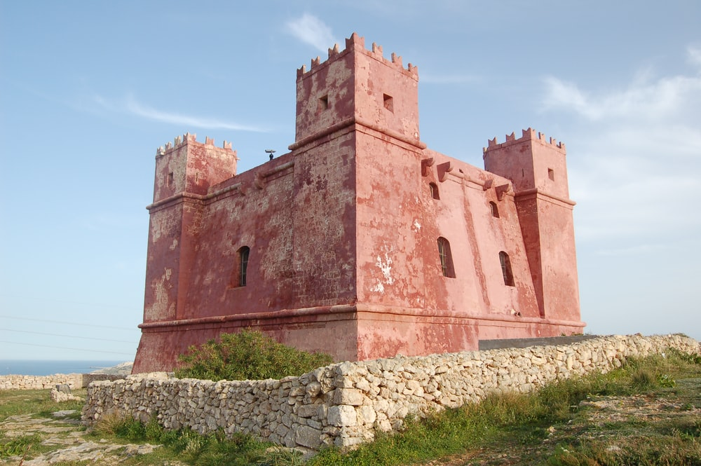 brown concrete castle under blue sky during daytime