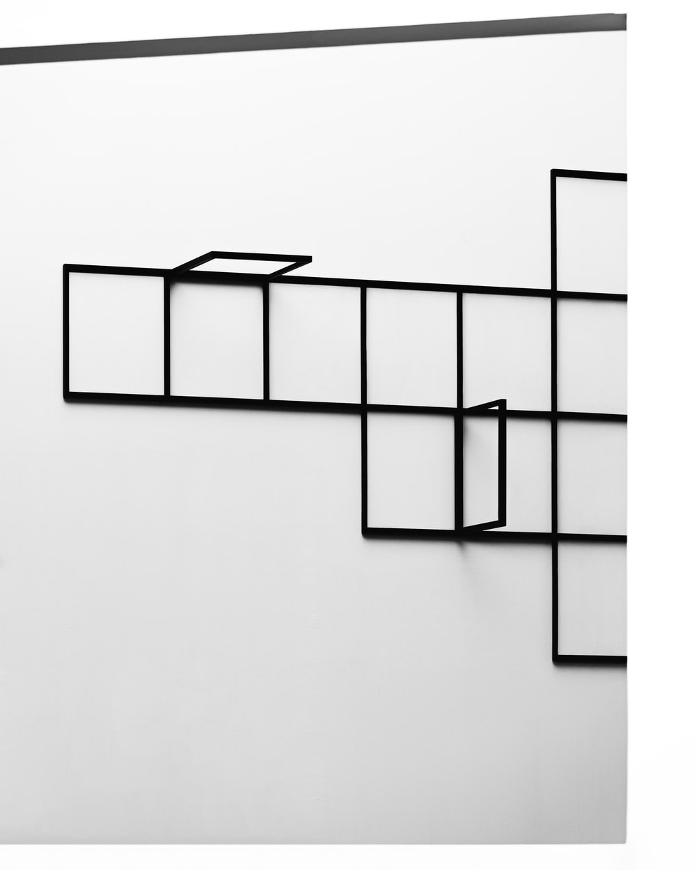 white and black wall tiles