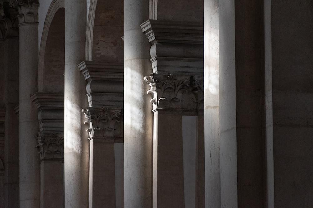 white concrete pillar during daytime