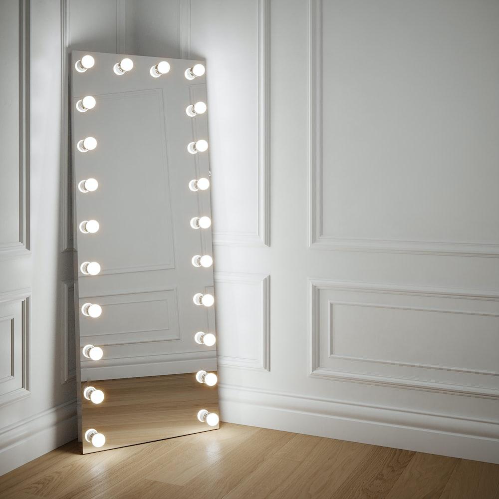 white wooden door with silver door lever