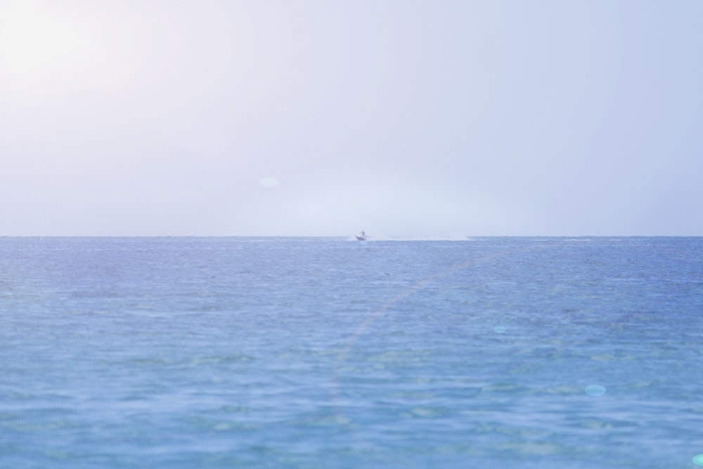 white boat on sea during daytime