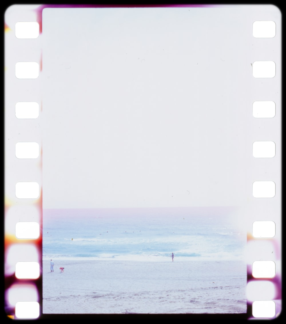 white and red polka dot frame