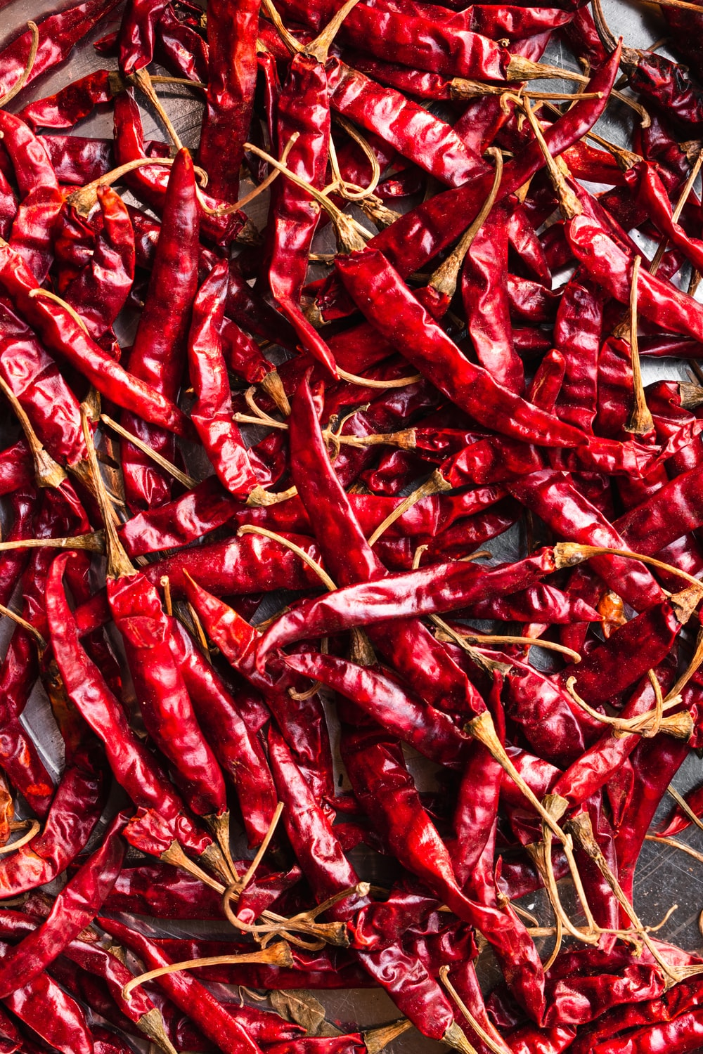 red chili lot on ground