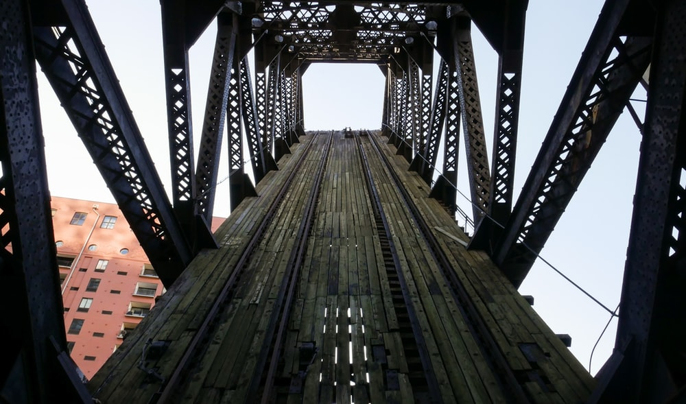 brown wooden bridge during daytime