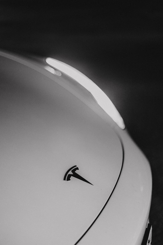 white and black nike logo