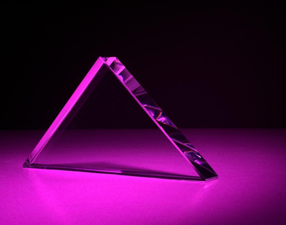 purple and black rectangular frame