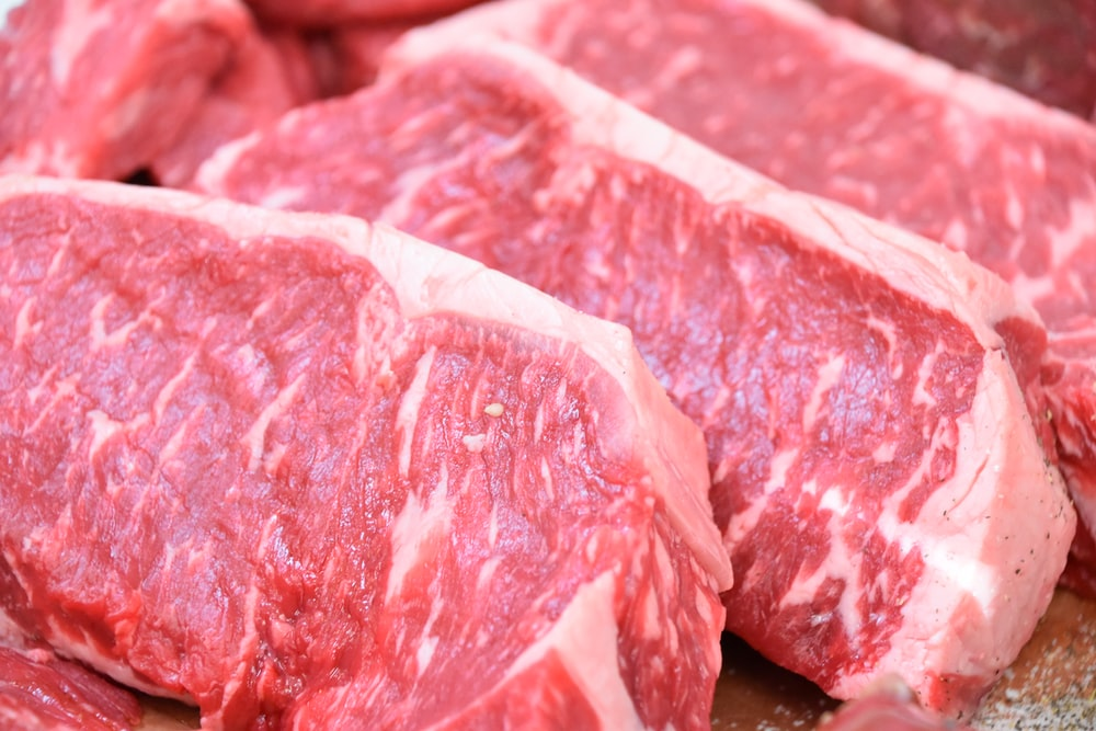 close up photo of raw meat