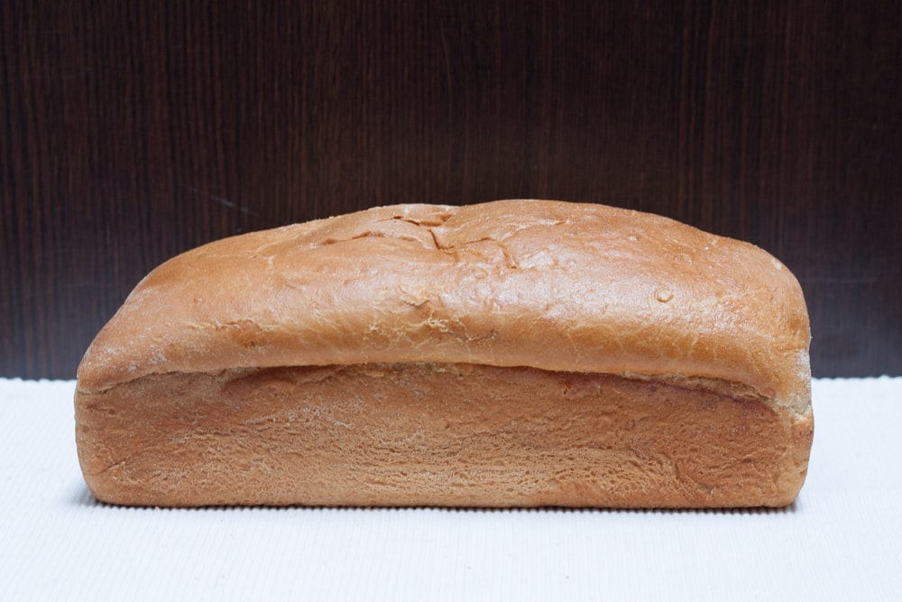 bread on brown wooden table