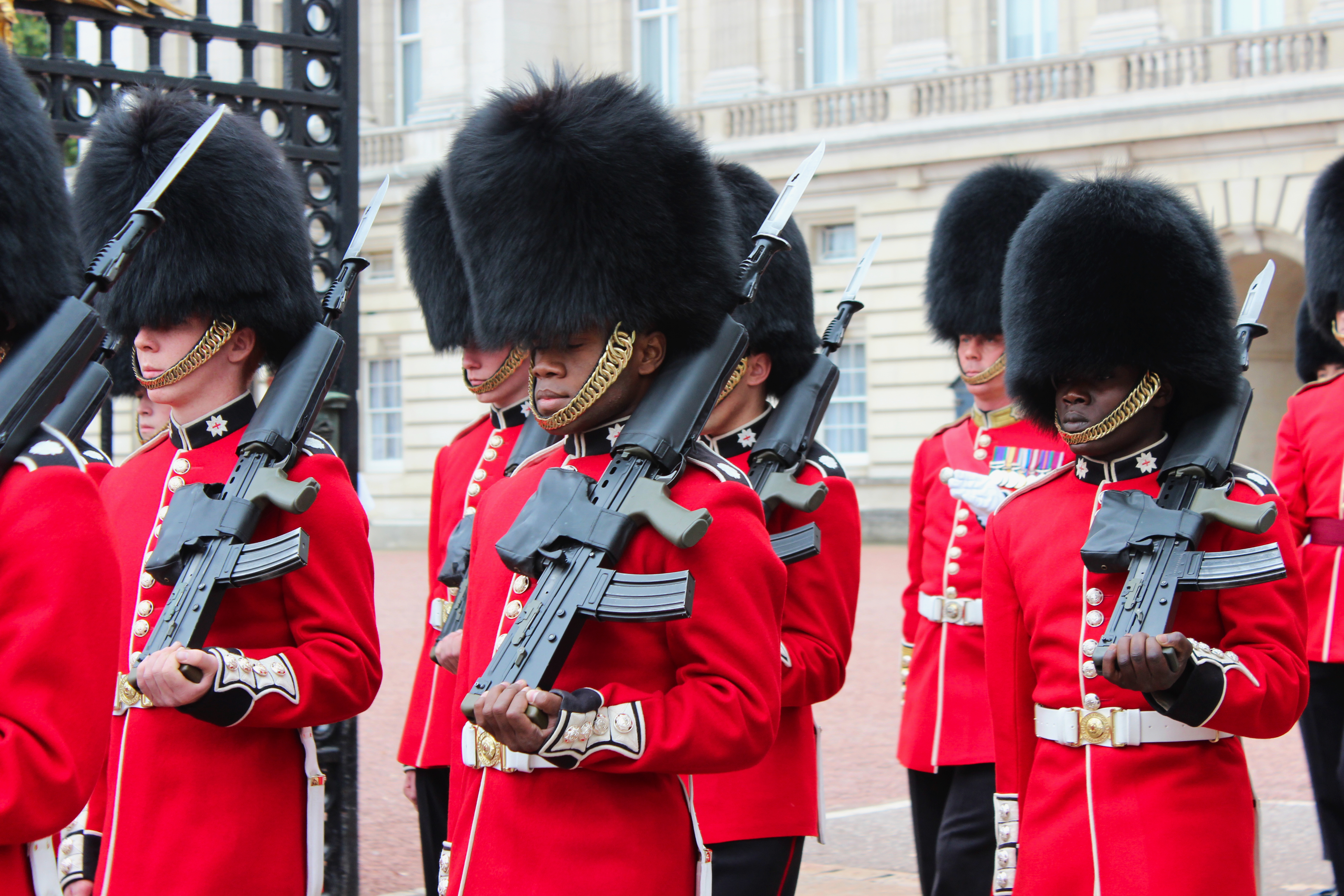 Queen's Guards at Buckingham Palace