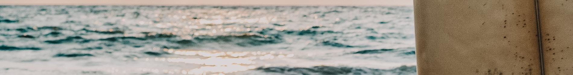 Early morning sunrise surf