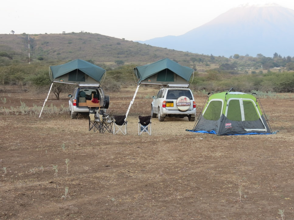 car camping and tailgaiting
