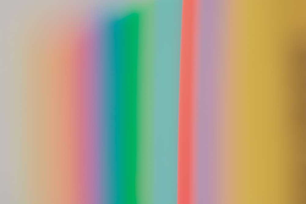 yellow green pink and blue striped