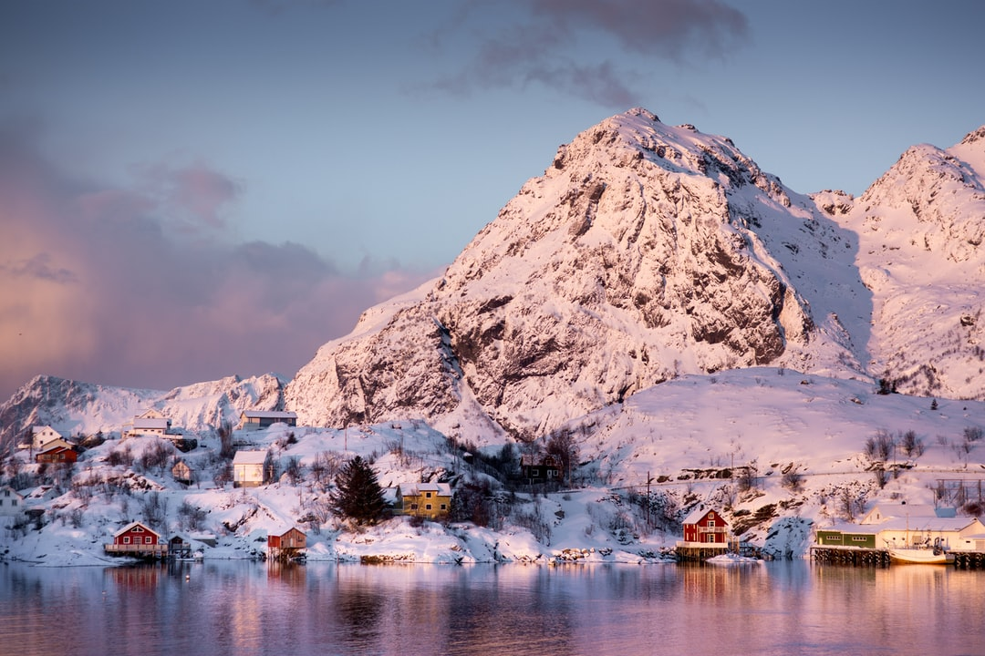 First Light On Moskenes Harbour In Northern Norway - unsplash