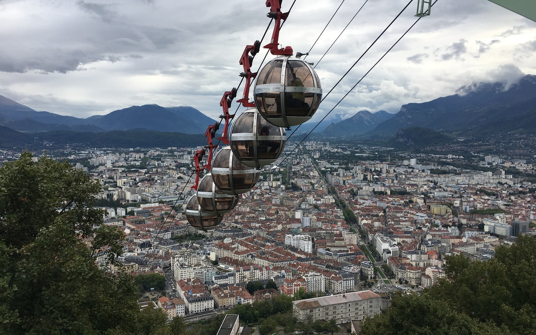 Grenoble Aerial Cable Car